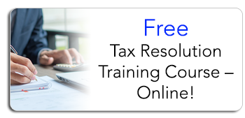 Free Tax Resolution Training Course Online
