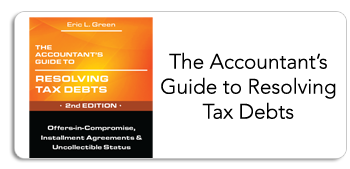 The Accountant's Guide to Resolving Tax Debts