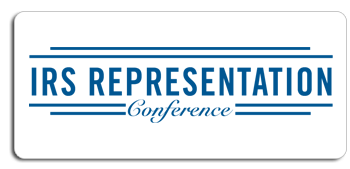 IRS representation Conference