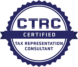 Certified Tax Representation Consultant Badge